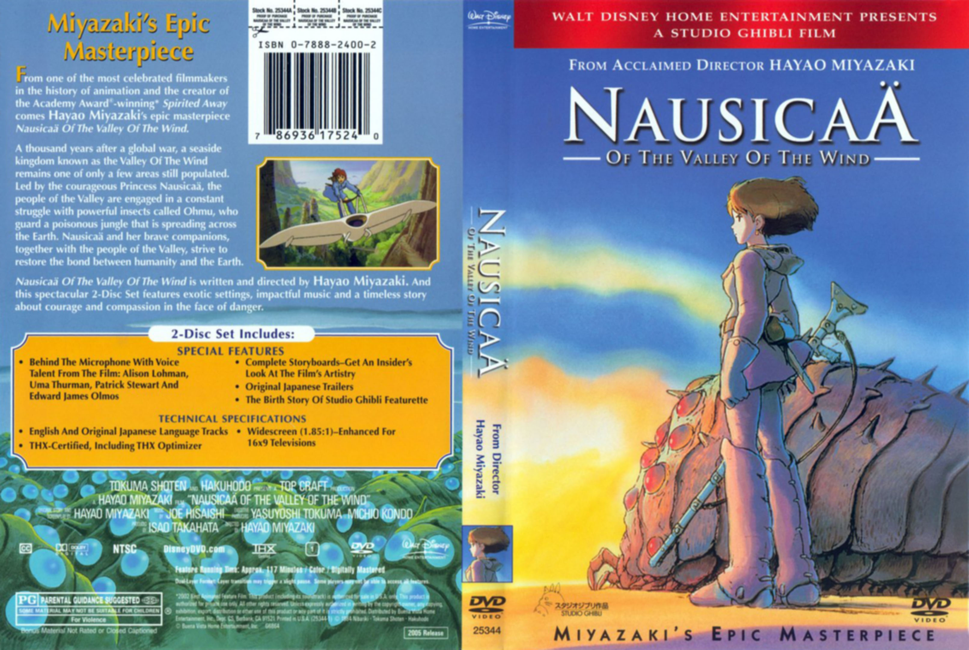 Animation Movie - Nausicaä Of The Valley Of The Wind (1984 ...